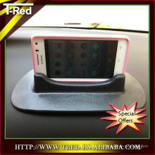 shenzhen teléfono móvil adhesivo estera PU gel adhesivo titular del teléfono del coche cargador