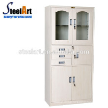 overhead dental metal open shelf office cabinet