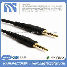 6 FT MINI AUDIO STEREO 3.5MM CABLE MALE TO MALE MP3 6FT