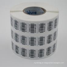 rolo de etiqueta de jato de tinta de papel brilhante mais vendido