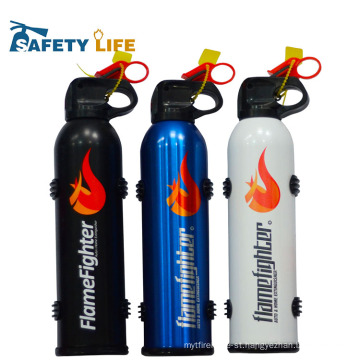 Mini fire fighting powder flamefighter extinguisher for car