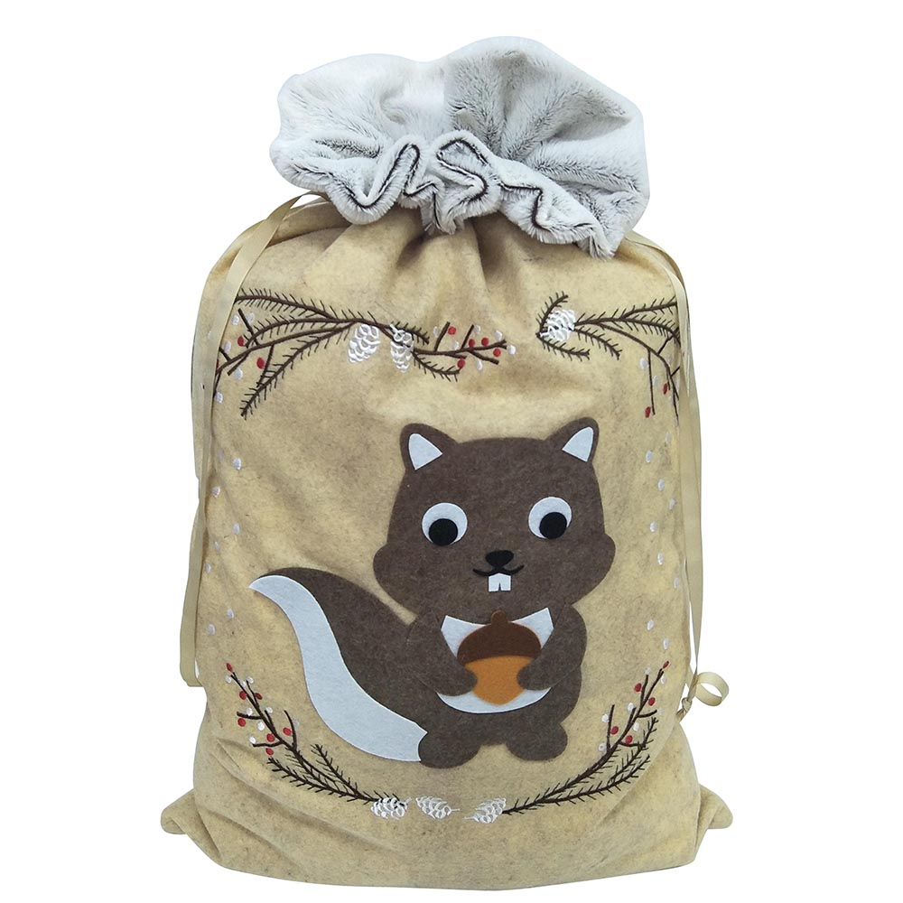 squirrel christmas sack(2)