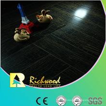 Plancher stratifié imperméable de noix de miroir du ménage 12.3mm E1