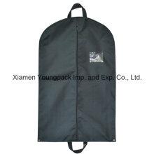 Custom Black Non-Woven Cloth Cover Garment Bag