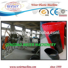 Linha de máquina de extrusão de tubo macio plástica TPU