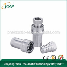 Ningbo AS-S1-Ss close type hydraulic qucik coupling stainless steel