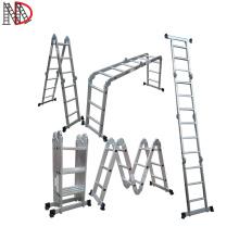 4x2 4x3 4x4 4x5 4x6 Aluminium Multi-function folding step ladders