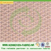 Tissu de polypropylène non tissé de Cross Design