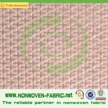 Cross Design Non Woven Polypropylene Fabric