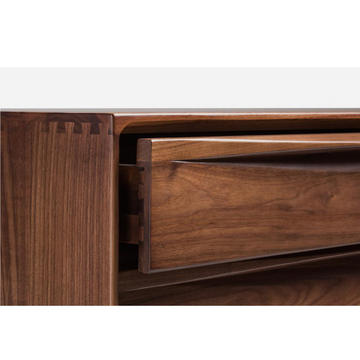 "FAS Walnut Solid Wood ""RIPPLING"" CHESTS"