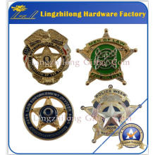 3D Effect Bulk Military Sheriff Star Badge
