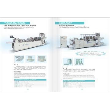 Medizinische Sterilisationstaschenrolle, die Maschine herstellt