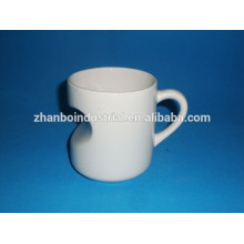 Special shaped porcelain customized mug ceramic coffee cup