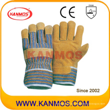 Свинья Сплит кожаные рабочие перчатки безопасности (21002)