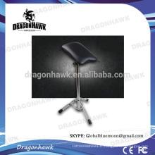 Chaise de tatouage en gros et chaise de chaise ajustable confortable à bras de tatouage couleur noire