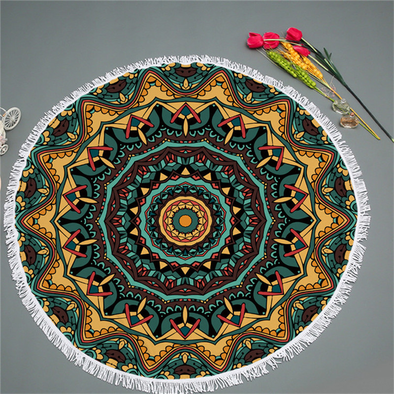 Round Beach Towel Manufacturers