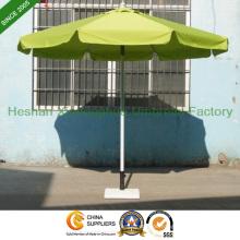 3m Runde Aluminium Patio-Garten-Sonnenschirme für Outdoor-Möbel (PU-0030A)