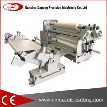 Machine de rembobinage à découpe automatique en feuille d'aluminium