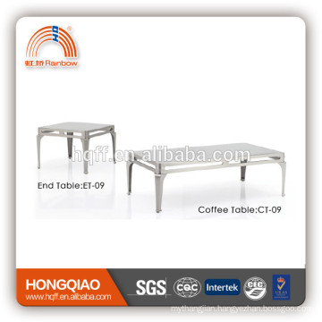 CT-09 ET-09 stainless steel glass modern coffee table
