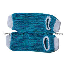 New Ladies Girls Knitted Anti-Slip Indoor Slipper Socks (DL-HS-04)