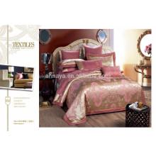 2015 New Design cama de luxo Set com tampa de almofada China Wholesale