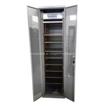 Servidor rack Gabinete de rede de 19 polegadas com portas