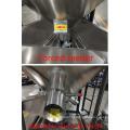 Misturadora de grânulos de pelotas de plástico e liquidificadora com aquecimento