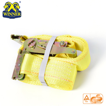 Alta Qualidade Industrial Poliéster Ratchet Tie Down Strap