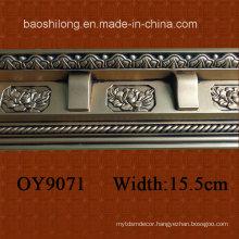 PU Plain Corner Moulding /Cornice/ Crown Moulding