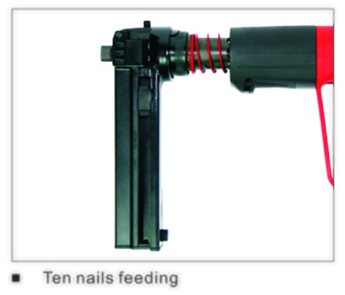 Nh361mx Fully Automatic Powder Actuated Fastening Tool 4