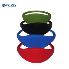 NFC Smart Wristband / Blue Silica Gel Wristband