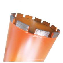 Broca de diamante para concreto armado de alto grau