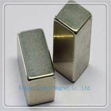 N40 NdFeB Permanent Bar Magnet with Nickel Plating