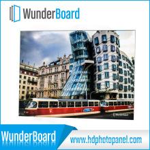 Plug-in Design Metal Photo Frame for Wunderboard HD Aluminum Photo Panels