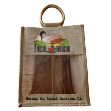 Защита окружающей среды Jute Tea Shopping Bag (hbjh-20)