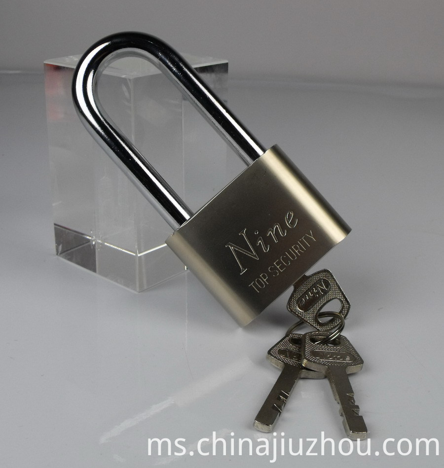 Nickel Plated Blade Iron Padlock 40 MM