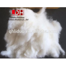 Natural White NXW dehaired cashmere fiber 16/18mm with 15.5micron