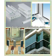 Machine de production de profil de fenêtre de PVC