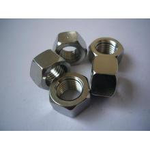 Porcas hexagonais de aço inoxidável