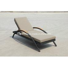 Pool Beach Sun Lounger Bed, Rattan Lounger Sofa Bed