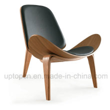 Фанера Кожаный салон Ханс Вегнер оболочки стул (СП-BC468)