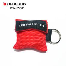 DW-FS001 Hohe Qualität CPR Pocket Resuscitator Rettung Einweg-CPR-Gesichtsmaske