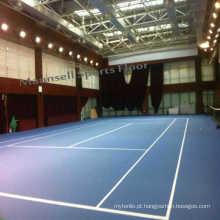Plástico Rolinho PVC Esportes Tênis Pavimento Interior Usado