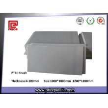 Горячая Продажа Обточенный естественный цвет Производитель тефлона PTFE лист