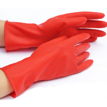 Dipped Flocklined Industrial Working Household Safety Latex Gloves