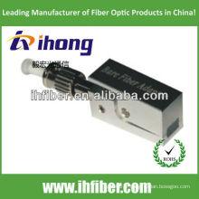St / pc adaptateur à fibres nues type carré avec boîtier métallique