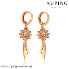 26727-Xuping Brass Jewelry Wholesale Earrings With Good Quality