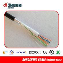 Cu / CCA 0,51 мм Открытый кабель Cat5e FTP