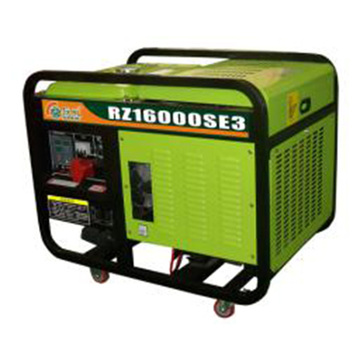 2 Cylinder 12kw Small Power Genset