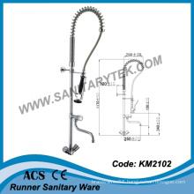 Deck Mounted Pre-Rinse Kitchen Sink Faucet (KM2102)